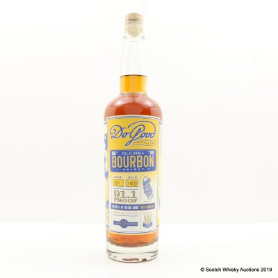 Do Good Distillery California Bourbon Whisky Batch #1 75cl