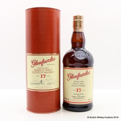 Glenfarclas 17 Year Old Specially Bottled For Dahl's Vinhandel 25th Anniversary