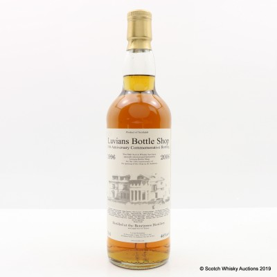 Benrinnes 1996 10 Year Old Luvians 10th Anniversary
