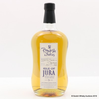 Jura 1999 5 Year Old Heavily Peated Single Cask #19 For Royal Mile Whiskies