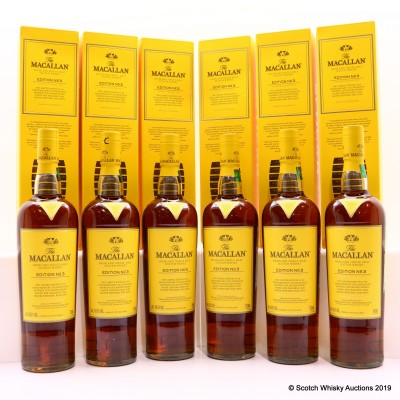 Macallan Edition No3 6 x 70cl