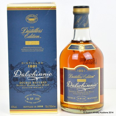 Dalwhinnie 1991 Distillers Edition