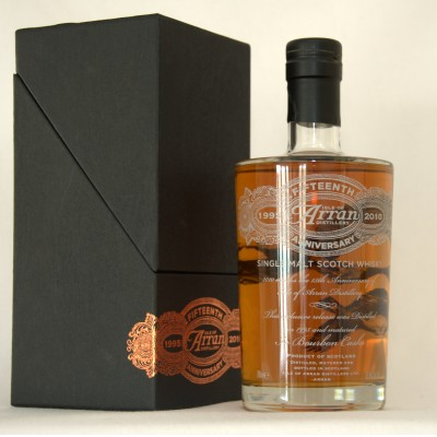 Arran 15th Anniversary Distillery Only Bottling