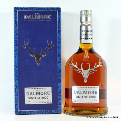 Dalmore Vintage 2000