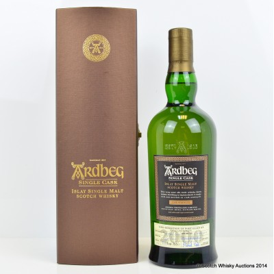 Ardbeg 2000 Single Cask # 1217 Lord Robertson