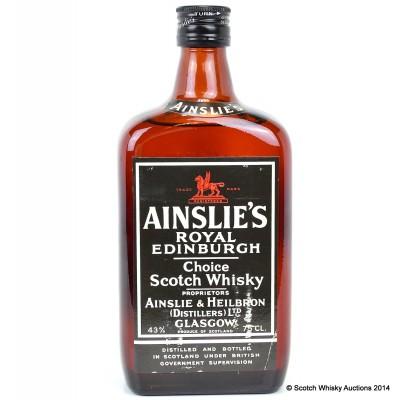 Ainslie's Royal Edinburgh 75cl