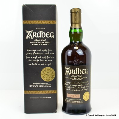 Ardbeg Hand Filled 1976 25 Year Old Cask #2390