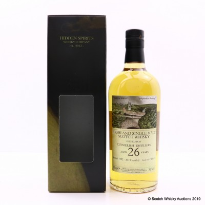 Clynelish 1992 26 Year Old Hidden Spirits