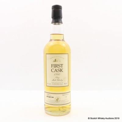 Port Ellen 1980 16 Year Old First Cask - Bottle Number 1