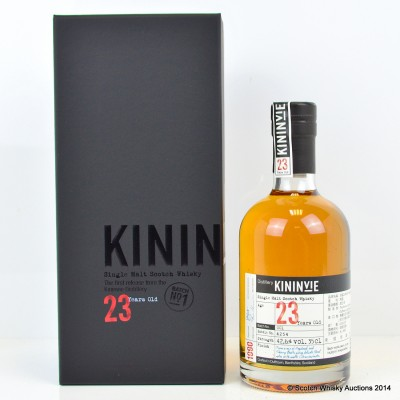 Kininvie 23 Year Old Batch #1 35cl