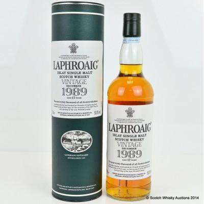 Laphroaig Vintage 1989 17 Year Old