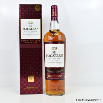 Macallan Whisky Maker's Edition 1L
