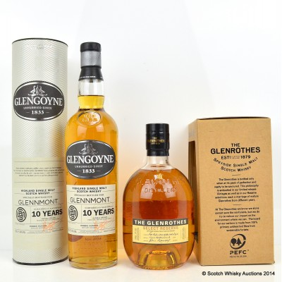 Glengoyne 10 Year Old For Glenmount & Glenrothes Select Reserve