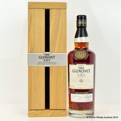 Glenlivet XXV 25 Year Old