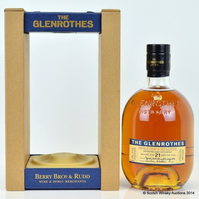 Glenrothes Minister's Reserve 21 Year Old