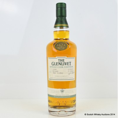 Glenlivet Single Cask 21 Year Old Eclipse