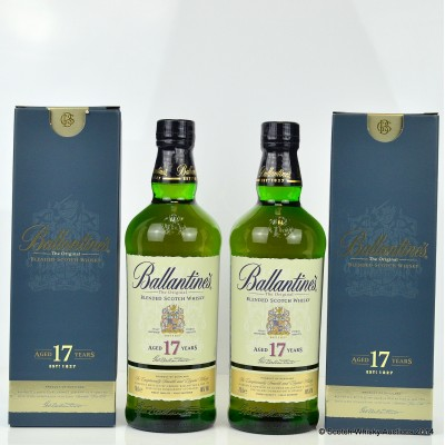 Ballantine's 17 Year Old x 2