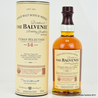 Balvenie Cuban Selection 14 Year Old