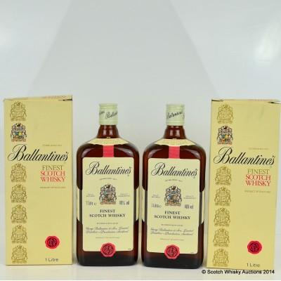 Ballantine's Finest 1L x 2