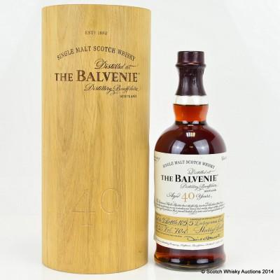 Balvenie 40 Year Old Batch #3