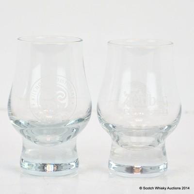 Ardbeg Feis Ile 2011 Glass & Kilchoman Glass