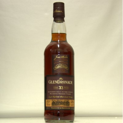 Glendronach 33 years old
