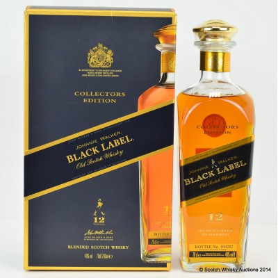 Johnnie Walker Black Label Collector's Edition 12 Year Old