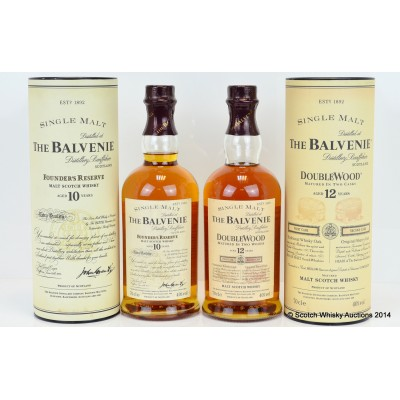 Balvenie Founder's Reserve 10 Year Old & Balvenie Doublewood