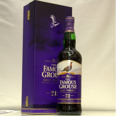 Famous Grouse 21 years old