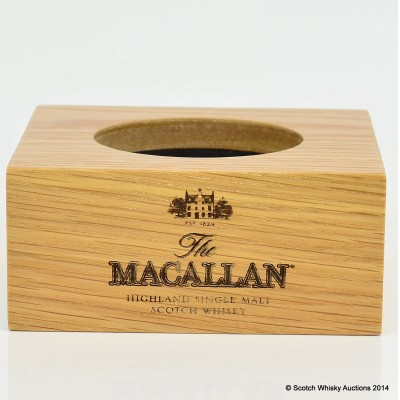 Macallan Wooden Bottle Plinth