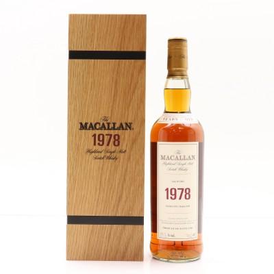 Macallan Fine & Rare 1978 39 Year Old