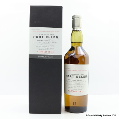 Port Ellen 3rd Annual Release 1979 24 Year Old