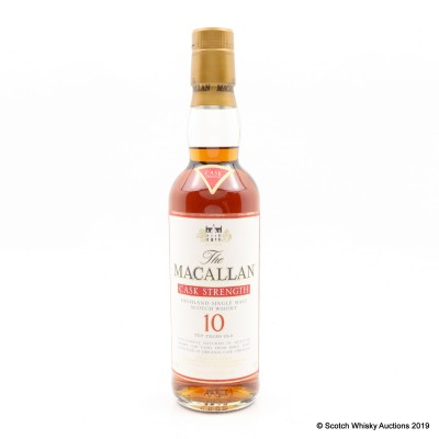 Macallan 10 Year Old Cask Strength 33.3cl