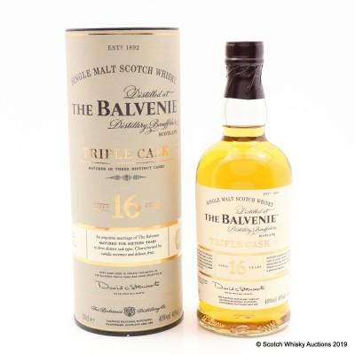 Balvenie 16 Year Old Triple Cask 20cl