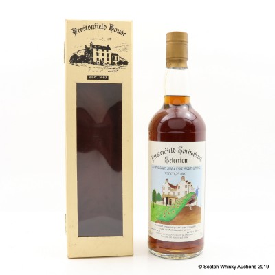 Springbank 1967 20 Year Old Prestonfield 75cl