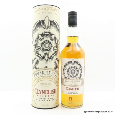 Clynelish Reserve Game Of Thrones 'House Tyrell'