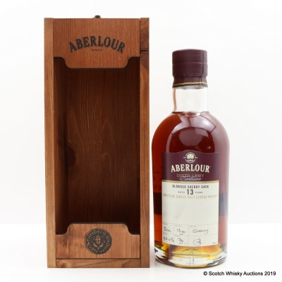 Aberlour 13 Year Old Oloroso Cask Distillery Exclusive