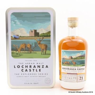 Arran 21 Year Old Explorers Series - Volume Two 'Lochranza Castle'
