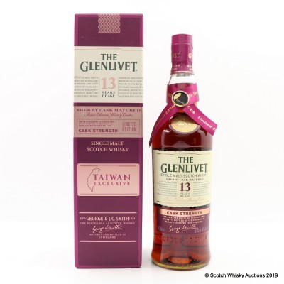 Glenlivet 13 Year Old Sherry Cask Matured Taiwan Exclusive