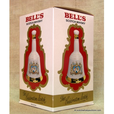 Bell's Decanter - Charles and Diana Wedding