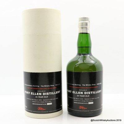 Port Ellen 1978 24 Year Old For 10th Anniversary Of The Whisky Shop
