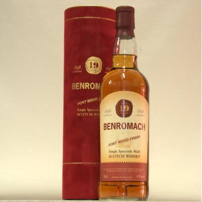 Benromach 19 Port Wood