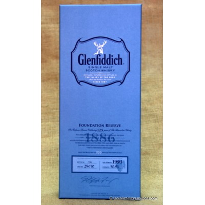 Glenfiddich Foundation 125th Anniversary