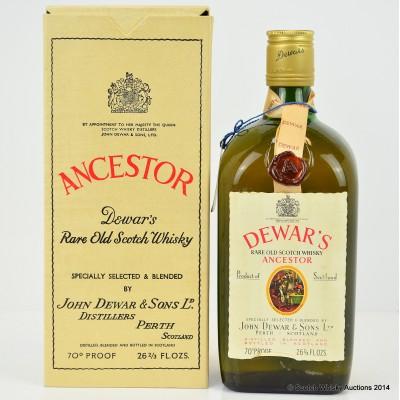 Dewar's Ancestor 26 2/3 Fl Ozs