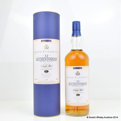 Auchentoshan Queen Elizabeth II 12 Year Old 1L