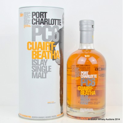 Port Charlotte PC6 Distillery Managers