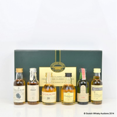 Classic Malts Collection Minis 6 x 5cl