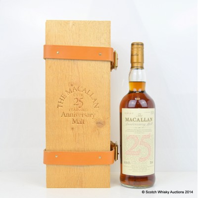 Macallan Over 25 Year Old Anniversary Malt 75cl