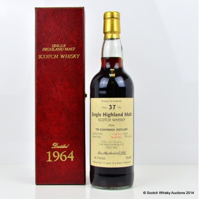Glenfiddich Single Cask 1964 37 Year Old Ian Macleod