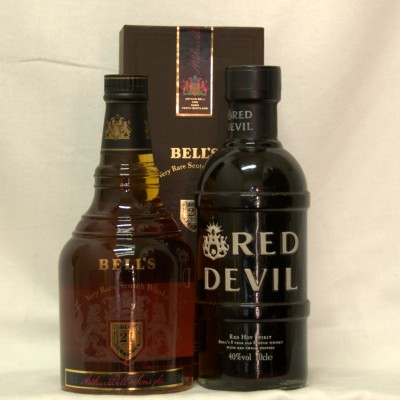 Bell's 21 year old Royal Reserve and the Red Devil